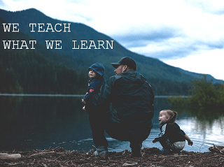 We teach what we learn – unintentionally