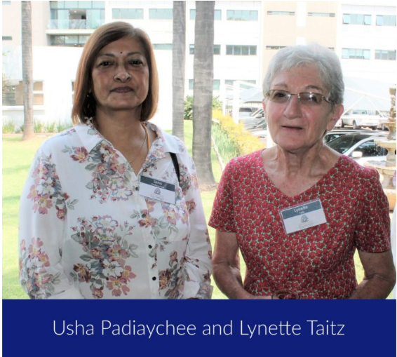 Usha Padiachee and Lynette Taiz_Chartered Wealth solutions Clients